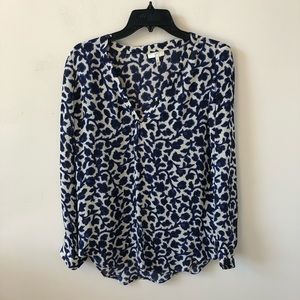 Joie 100% Silk Floral Blouse- Size S